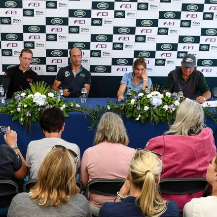 Press Conference LRBHT