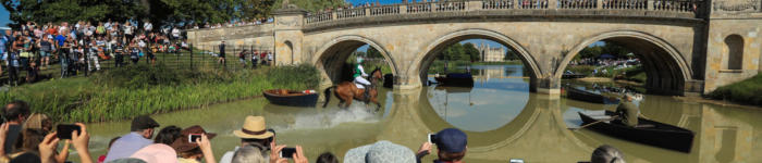 Burghley 2018 M Lewis105 Lion Bridge Crowds